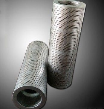 ISO Standard 1 Micron Water Filter Cartridge / Pall Filter Element Stainless Steel
